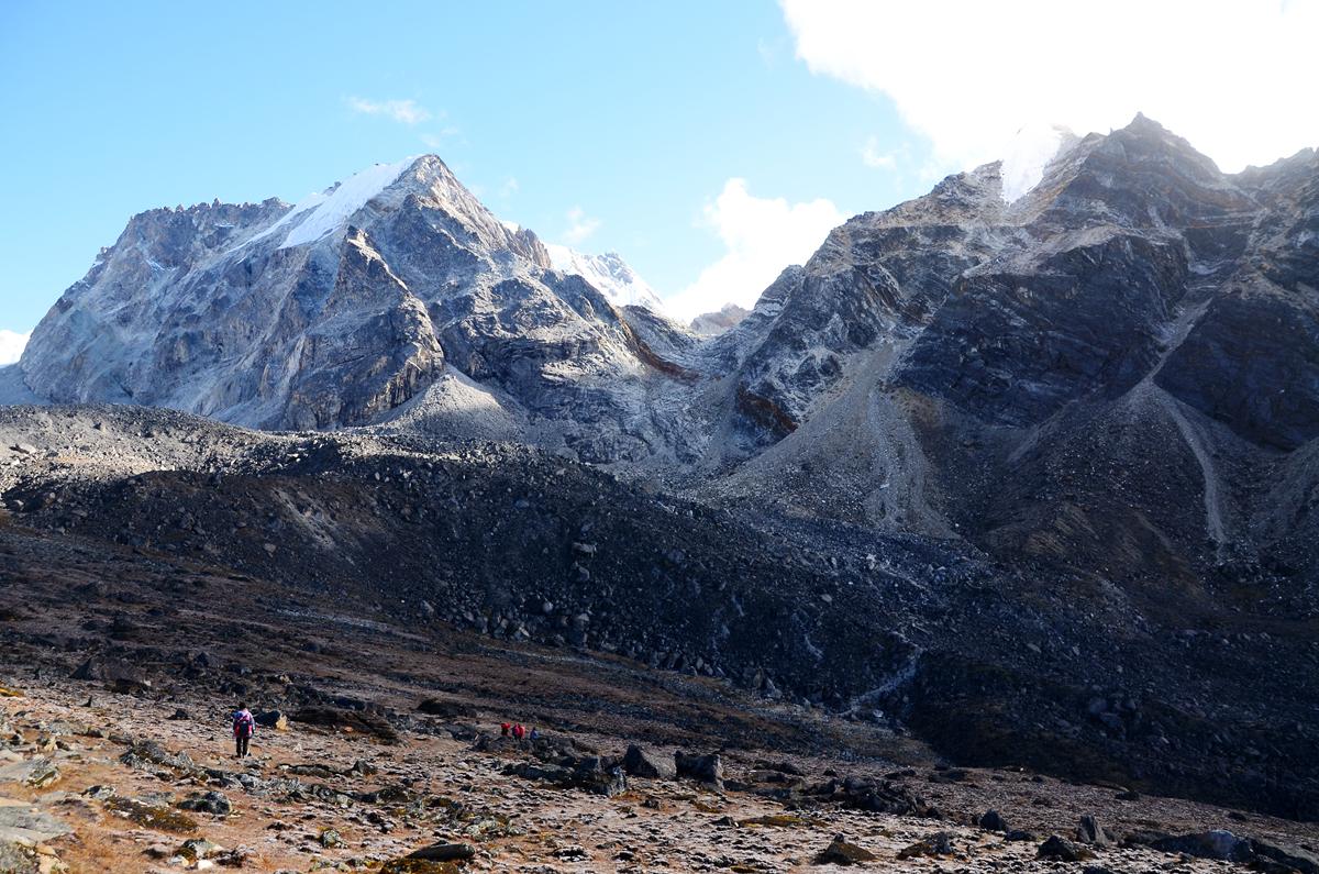 【EBC島峰Gokyo湖】這是一條無法回頭的路,進擊的雙腿決戰EBC環線大魔王,然後我們被勒索了。Gokyo-Thangnag-Chola Pass-Dzonglha。第4章。 @飯糰五號的旅遊狂想+