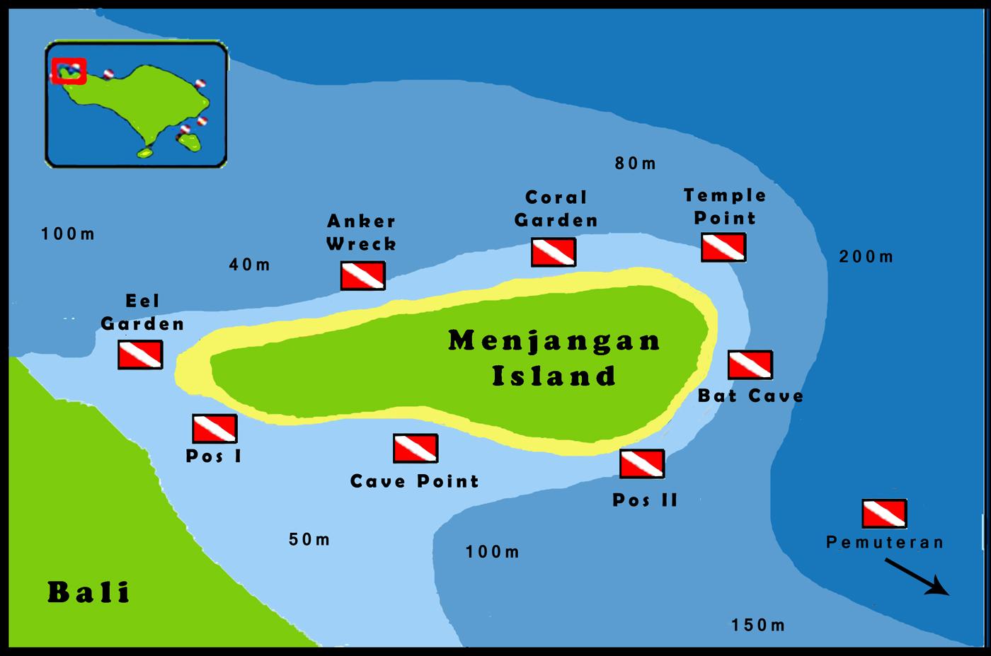 Dive-site-Menjangan-Island