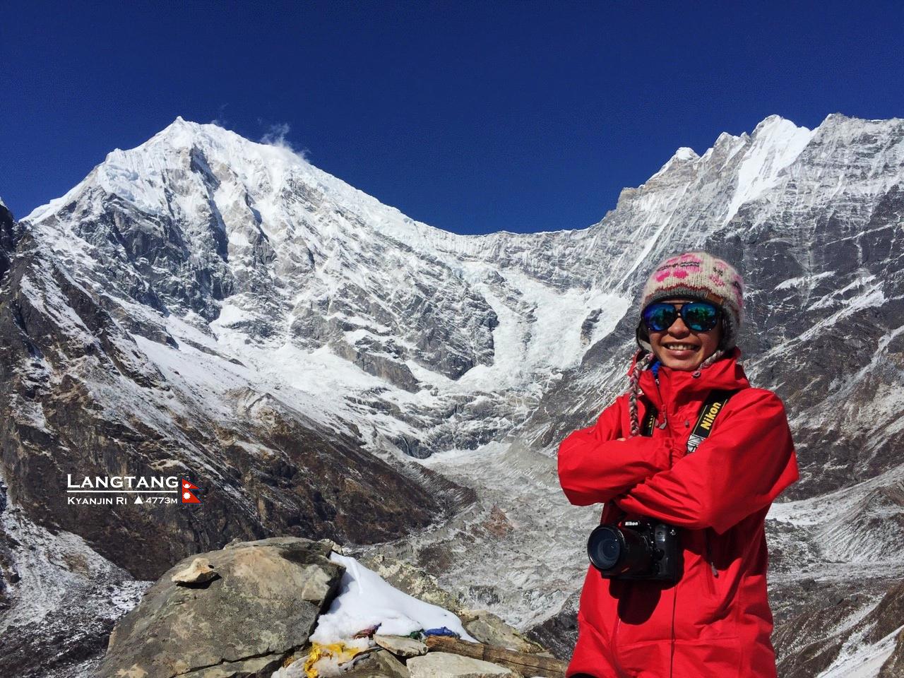 [尼泊爾]藍塘紀行,Day 3 Kyanjin Ri 4773m,在世界最美的山谷擁有我們的喜馬拉雅仙境。 @飯糰五號的旅遊狂想+