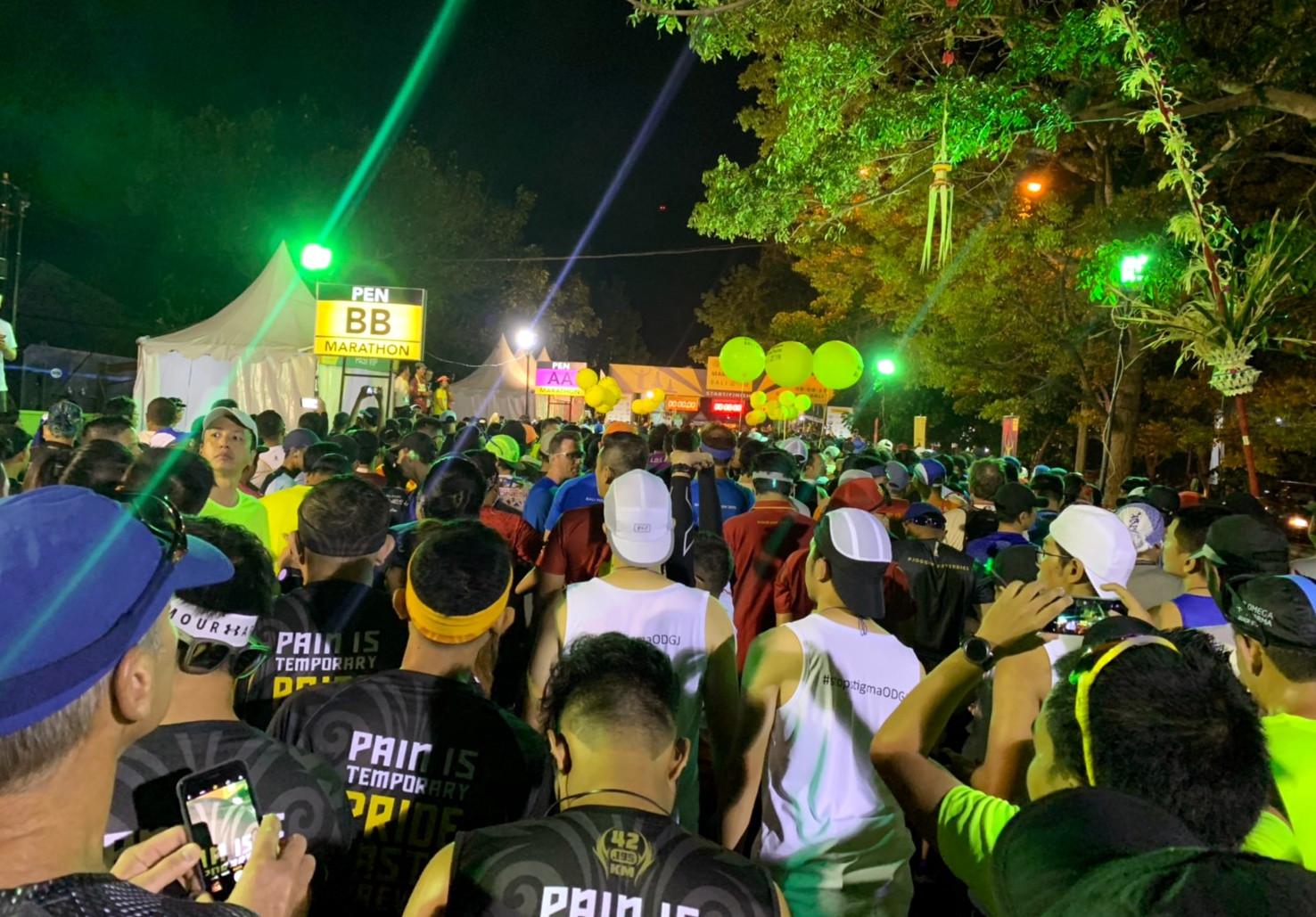 [42.195]2019峇里島馬拉松,Semangat就是最棒的補給,熱鬧又好玩