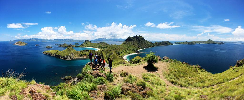 [印尼]即將消逝的三色海灣(白色、黑色、粉紅色) x 科摩多潛水與魟魚一起飛翔 @飯糰五號的旅遊狂想+