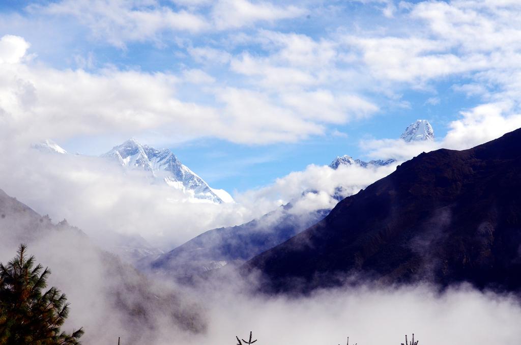 【EBC島峰Gokyo湖】在喜馬拉雅山即使準備萬分,山神給的運氣才是真正的關鍵。Namche Bazzar-Dole-Machhermo。第2章。 @飯糰五號的旅遊狂想+