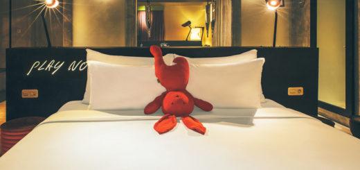 [住]倒頭栽的Bunny兔到底在想什麼?水明漾潮流酒店Dash @飯糰五號的旅遊狂想+