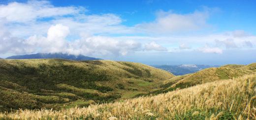 [陽明山]在錐形火山口秘境享受無敵海景,磺嘴山生態保護區 @飯糰五號的旅遊狂想+