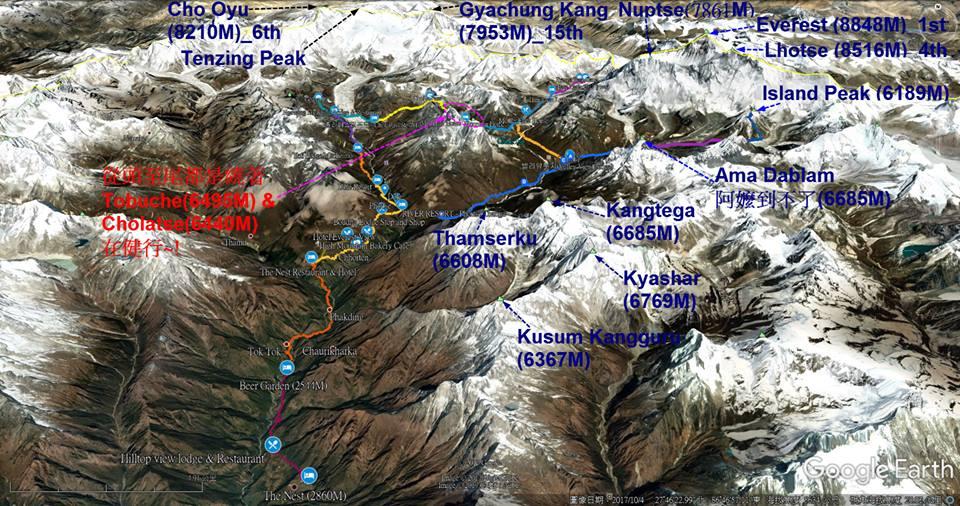 EBC健行∣高丘湖與聖母峰基地營EBC行前準備、規劃與花費。