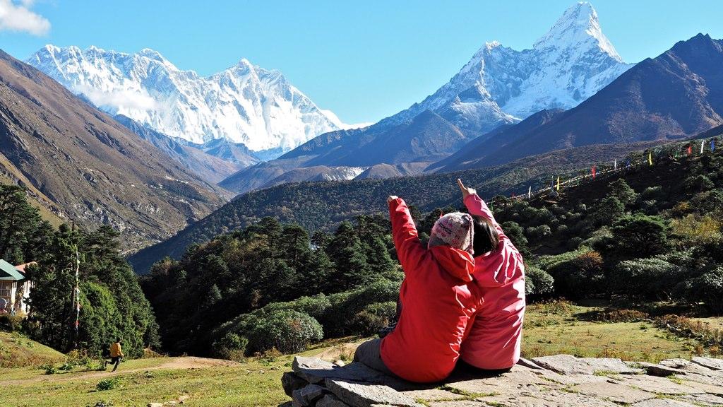 【EBC島峰Gokyo湖】在尼泊爾包直升機下山就是任性。最終章。 @飯糰五號的旅遊狂想+