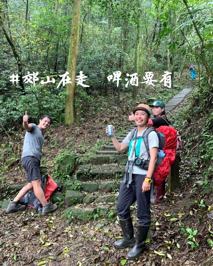 淡蘭古道中路與神同行,在台灣的朝聖之路遇見最強男人。