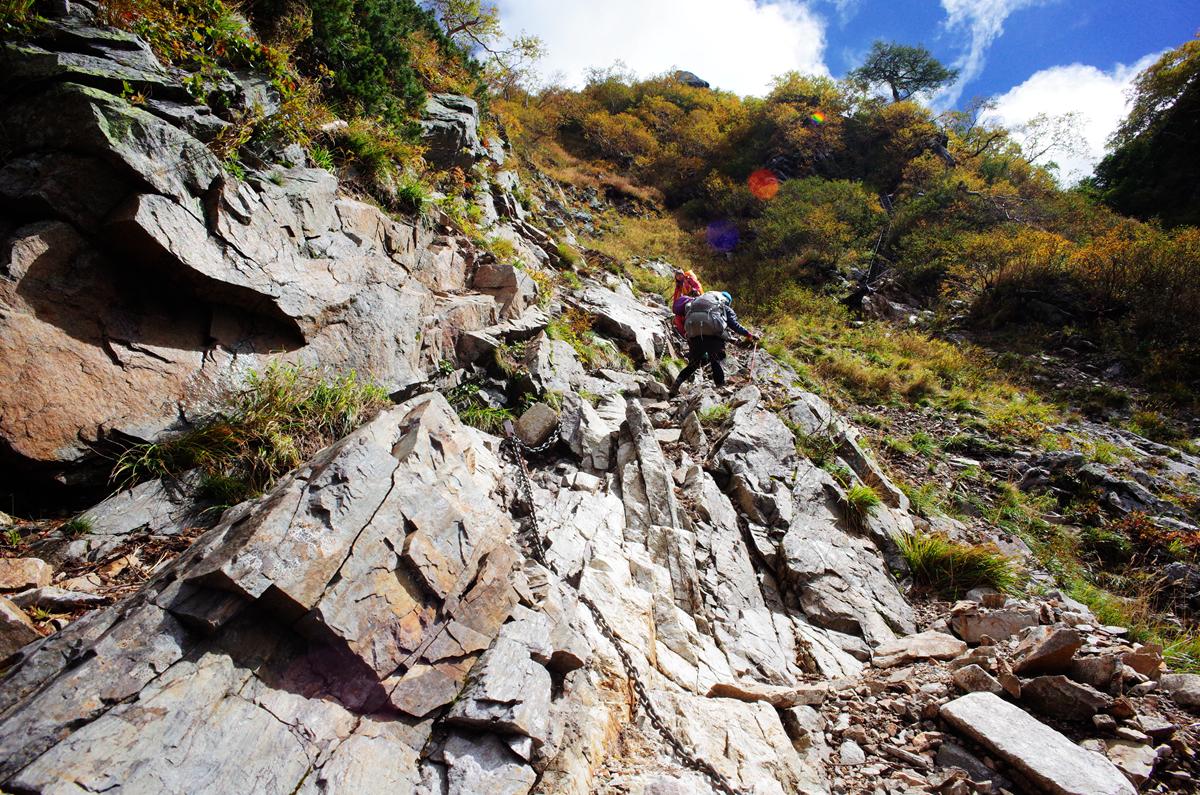 [3180]日本登山者的夢想之山-槍岳,外掛表銀座縱走