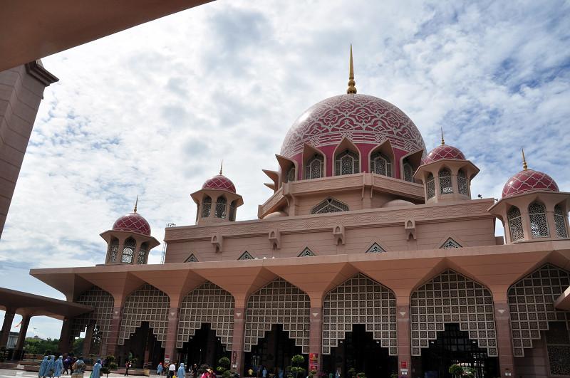 [吉隆坡]粉紅清真寺 @飯糰五號的旅遊狂想+